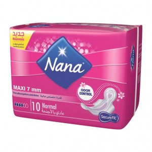 NANA  MAXI NORMAL X10